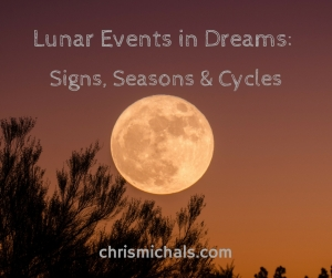 Lunar Events in Dreams